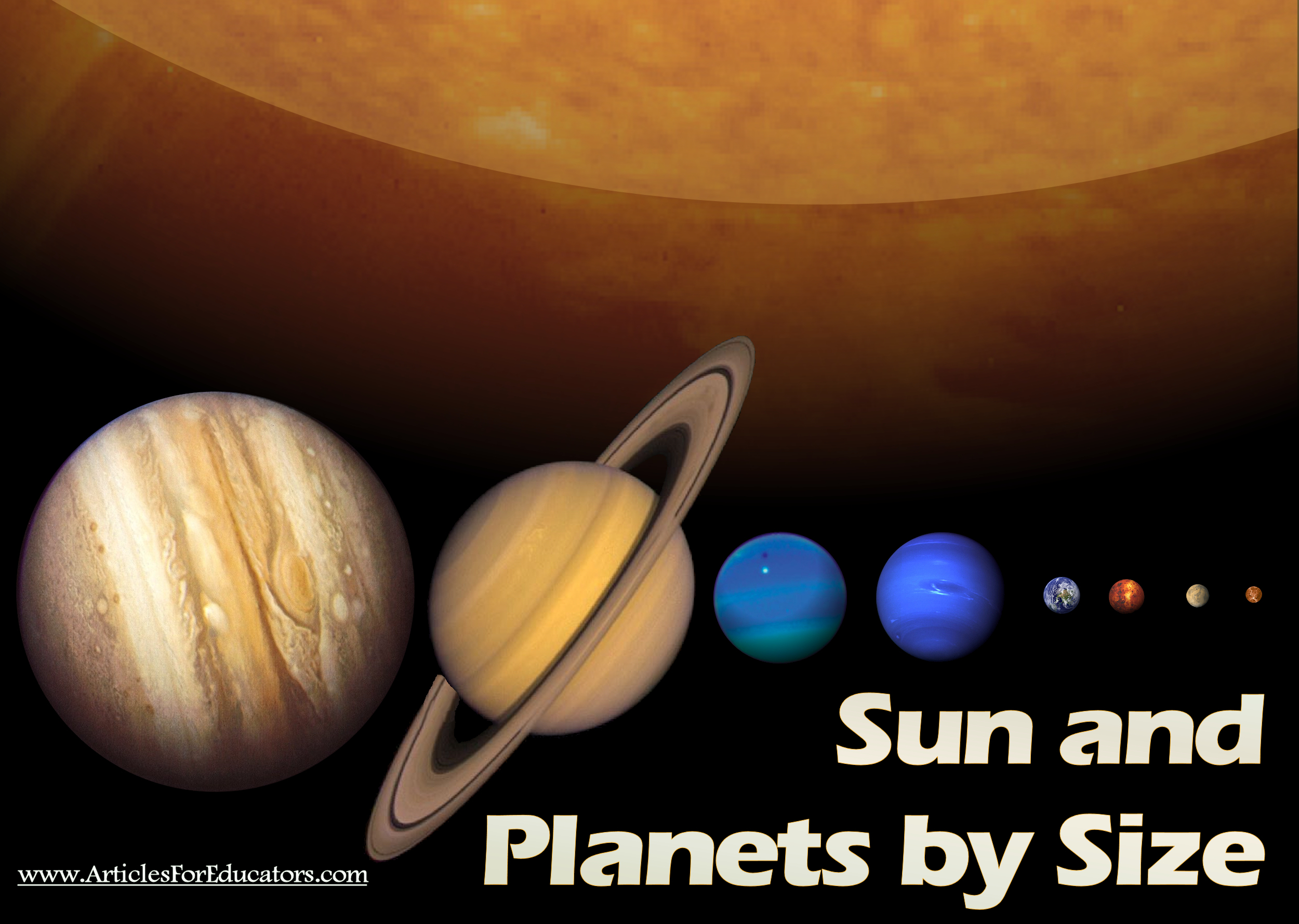 Planets in Order by Size - Pics about space